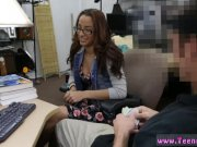 Young teen couple creampie College Student