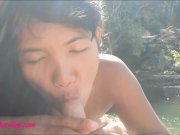 HD Heather deep get naked deepthroat big cock and creampie in the jungle
