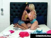 Black Tart Jenna Foxx Finger Bangs Lesbian Asian Cristi Ann!