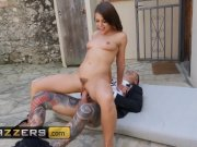 Slutty brunette Adriana Chechik cucks her husband and deepthroat - Brazzers