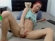 young latina lesbian slut showing her pussy and butthole