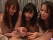 Group sex with Hina Maeda and her sexy friends - More at Slurpjp com
