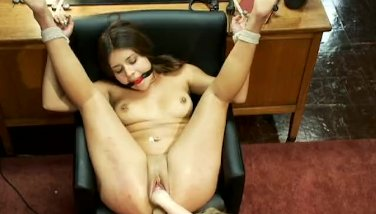 Jynx fisted by her hot blonde teacher