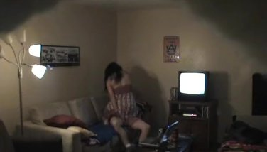 Two Illicit Lovers Caught On Cam While Fuckin