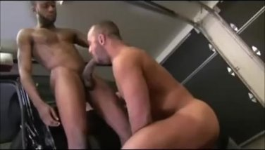 Sucking Hung Black Cock