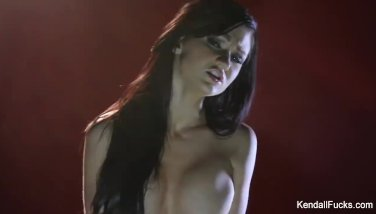 Kendall Karson teases and rides the Sybian