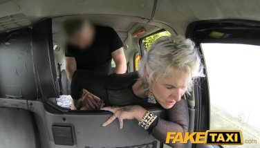 FakeTaxi Tattooed lady loves dirty anal