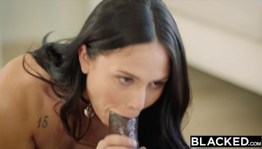 BLACKED I caught my step sister with two guys