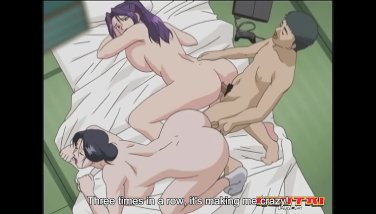 Hentai Pros - Dirty wife cheats with two hard cocks
