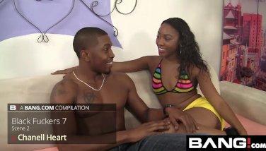 Beautiful Black Girl Pussy Riding Big Cocks