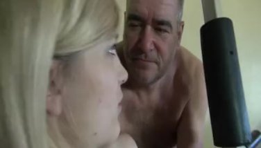 Natural German Teen fucks Grandpa