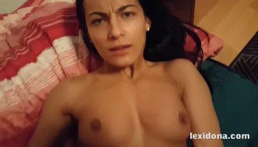 Lexidona - POV pussy fucking and creampie