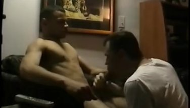 Straight Boy Dino Sucks Vinnie's Big Cock