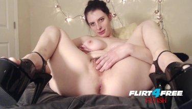 Flirt4Free Barbie Wolf - Dirty Talking Sexy Slut Punishes Her Slave