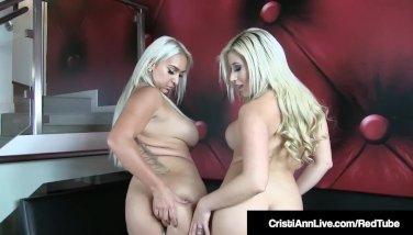 Asian Cristi Ann & Naughty Nina Kayy Shake Their Big Booties