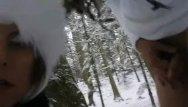 Hampton roads escort - Road trip to snow creampie