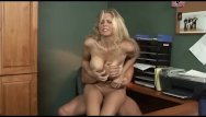 Shaved sinners Julia ann fucked hard in the office
