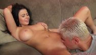 Live shemale cock Brunette loni evans rides a cock