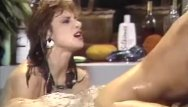 Classic hot porn Hot threesome fuck in jacuzzi
