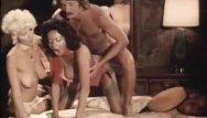 Vintage interracial xxx videos Threesome porn video with vintage pornstars