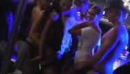Girls looking for a stripper Seven girls fucked stripper at party