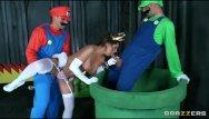 Mario lopez cock pics Mario and luigi parody double stuf - brazzers
