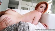 Straightening curved penis Banging bootyful busty redhead bombshell babe