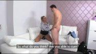 Female cum shots Femaleagent - sexy milf calms nervous stud