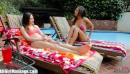 Cheating lying lesbian All girl massage cheating lesbian threesome
