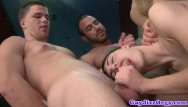 Italian men gay sex Dark room sex orgy with well hung hunks