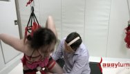 Degradation and adult spanking Casey calvert degraded with ass, cum and piss