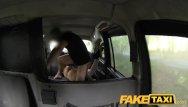 Customized condom Faketaxi - halloween customer in taxi facial