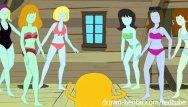 Bikini bandits time machine Adventure time hentai - bikini babes time