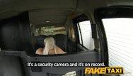 Define spunk Faketaxi blonde gets covered in spunk facial