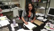Hanjob orgy Mature latina hanjob at the office