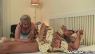 Cock in my hungry cunt Cock-hungry granny fucks her son-in-law