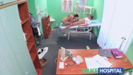 Creative problem solving teen Fakehospital doctor solves wet pussy problem