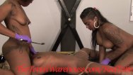 Black black lesbian Black girl bound ready for use by 2 girls