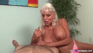Lovely handjobs Granny loves jerking cocks