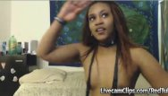 Teen tranny clips Amateur ebony babe suck the hell out of her w