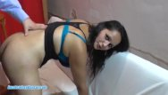Black teen doggie style - Wild gipsy amateur gets banged in doggy style