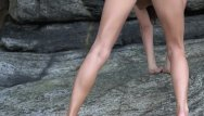 Beautiful vulva femjoy Nude beauty outdoors compilation
