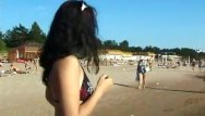 Suck sun brick Curvy young nudist lets the sun kiss her body