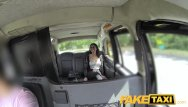 Shaved komondors Fake taxi spanish brunette with shaved pussy