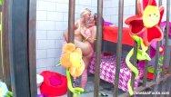 Fucked in jail Hippie babes vanessa natasha fuck in jail