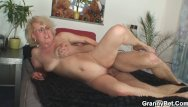 Clips of mature women getting fucked Old women gets her bald pussy slammed