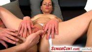 Milf senior galleries free Up close pussy play with hot euro milf renate