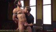 Hairy group gay sex Bike messenger gets edged