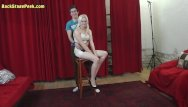 Teen cutoff shorts sexy Sexy lady in short dress in backstage video