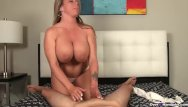 40 dddd tits Huge-titted milf enjoys stroking cocks